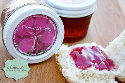 Recipes: Fireweed Jelly - Would love to try this with Starbucks Passion Tea