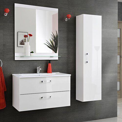 Trend  cm Wandmontierter Waschtisch Adel Wall mit Spiegel Armatur und Schrank Jetzt bestellen unter https