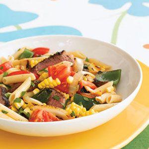 Grilled Southwestern Pasta Salad