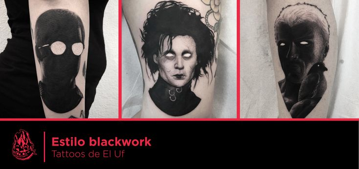 Tatuajes basados en películas de El Uf.  #tattoo #tattoos #tatuaje #tatuajes #realism #black&grey #cinema #portrait #blancoynegro #retrato #movie #film #ink #peliculas #uf #eluf #ondo #barcelona