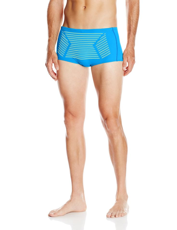 Black Blue Green Stripe Trunk Brief Speedo Swimwear 4z4D4FLe
