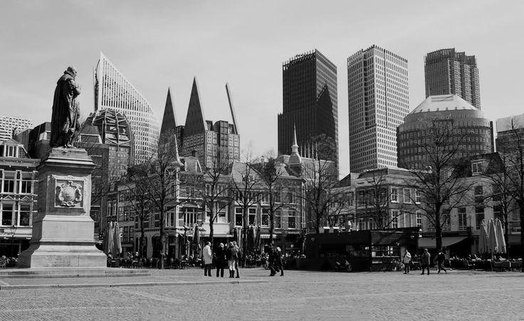 Serie zwart-wit Den Haag