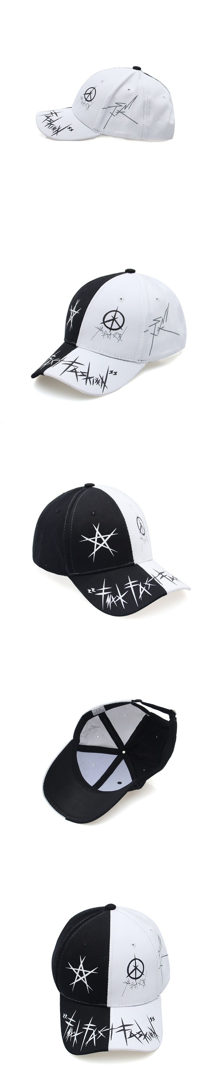 2017 Brand New Men and Women Baseball Cap Outdoor Leisure Curved Canopy Sun Hat Printing Graffiti Caps Adjustable Hip Hop Hat