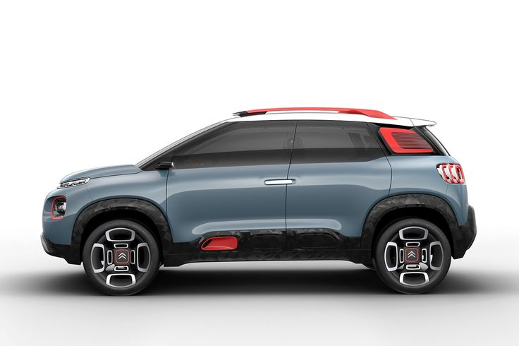 Citroen C-Aircross Concept for 2017 Geneva show: Picasso goes off-road