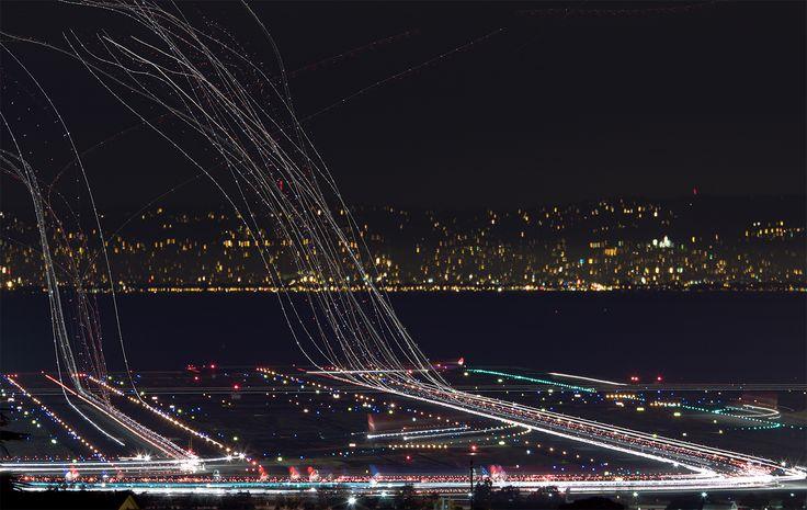 San Francisco airport - arriving / departing