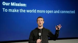 """The introduction of the book opens up with Mark Zuckerberg, owner of Facebook reconfirming his mission satement"""" make the world more open and connected and activities are better when socially done"""""""