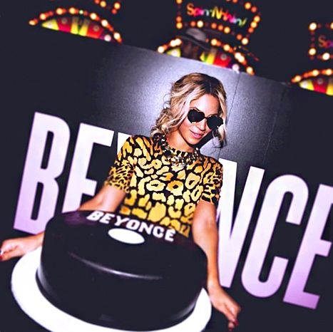Beyonce's album release party confection was created by famed Hoboken sweet spot, Carlo's Bakery of Cake Boss, an insider tells Us Weekly.
