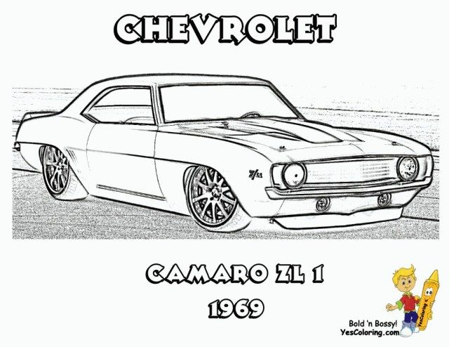 Exclusive Photo Of Muscle Car Coloring Pages Cars Coloring Pages