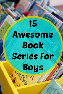 15 Book Series For Boys