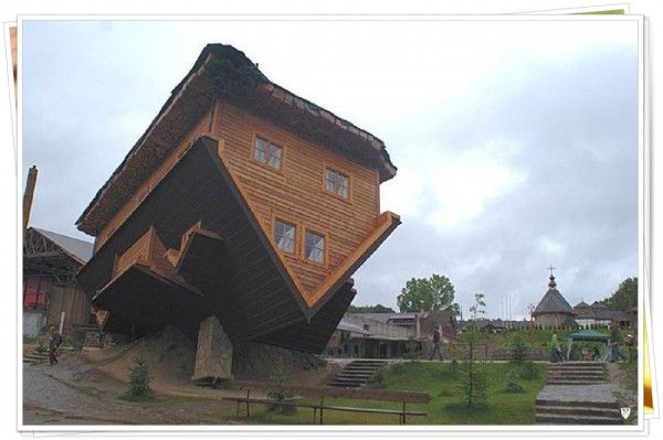 Top Extremely Unique House In This World: Fabulous Brown Wooden