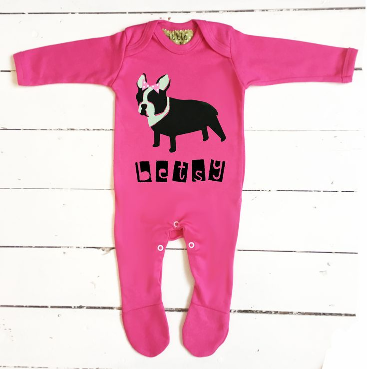 136 best personalised new baby gifts images on pinterest baby french bulldog themed gift for baby cute and quirky baby clothing negle Image collections