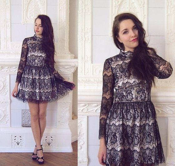 Kauniit hiukset <3 --- Choies Dress