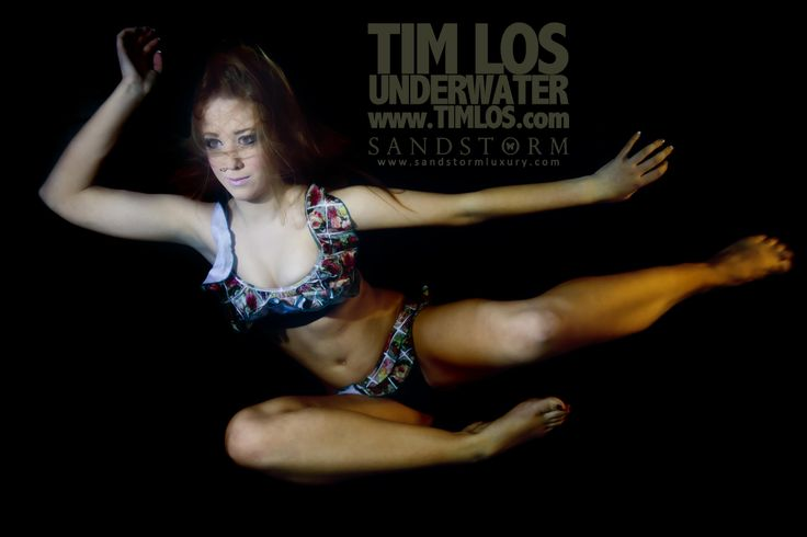 Grace and pose underwater