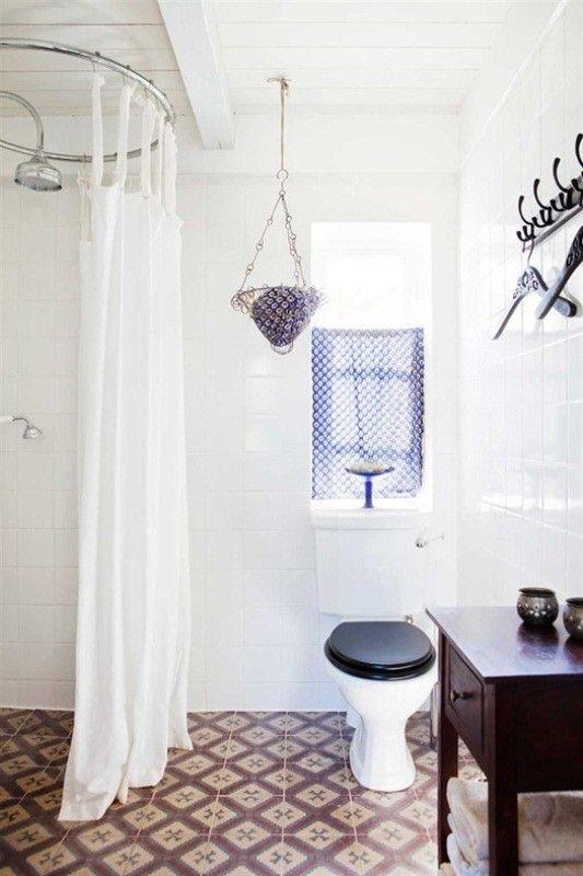 Vintage Scandinavian Bath Black Toilet Seat Remodelista
