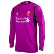 Liverpool Home Goalkeeper Shirt 2014/15 Long Sleeve
