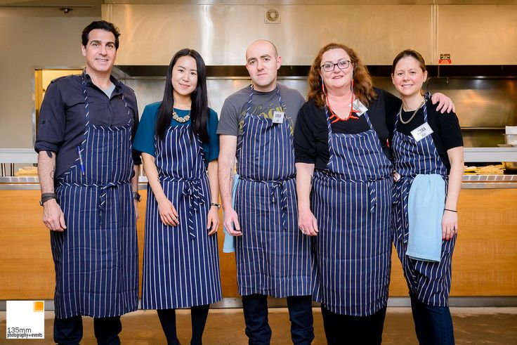 The contestants of Tin Chef 2015
