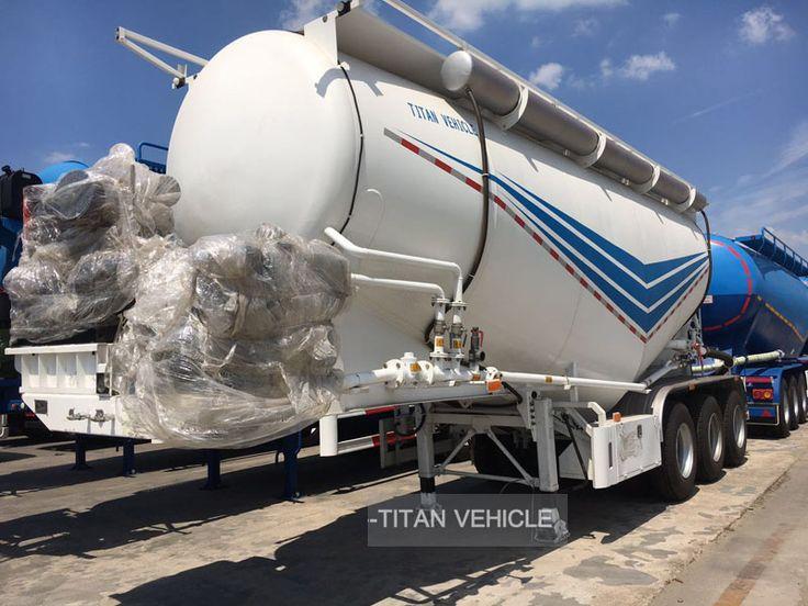 35cbm 40 cbm 40 Ton Bulk Cement Tank Semi Trailer