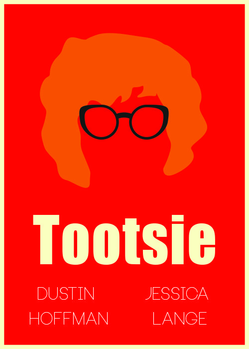 August 1st- Film of the Week! Starring a very young Dustin Hoffman and the equally youthful Jessica Lange. Listed on the AFI Top 100 movie list, Tootsie treds along the lines of Robin Williams' Mrs. Doubtfire. A struggling actor (Hoffman) goes to great lengths for work... he transforms himself into a woman! I'll leave the rest up for you to discover ;) Grab a friend and have a movie night with this 80's classic!