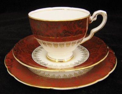 Lovely Vintage Royal Stafford Trio - C.1952 - Pattern Number 8283 (04/02/2012)