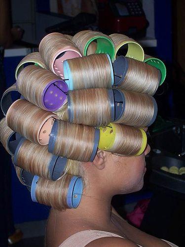 Blond Bouffant