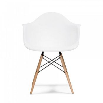 Eames White DAW Style Chair - Eames from Cult Furniture UK