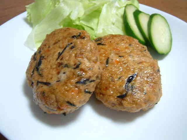 ひじき豆腐ハンバーグの画像