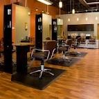Sage Salon (Tinley Park,IL)-The most elegant well designed salon-bronze & sage dominates the decor. The owner's attentiveness to detail & artistry is apparent in everything from the furniture to creative setup to the hair she designs. The name was her only not inspired by the color, sage,  but also its meanig - wisdom.