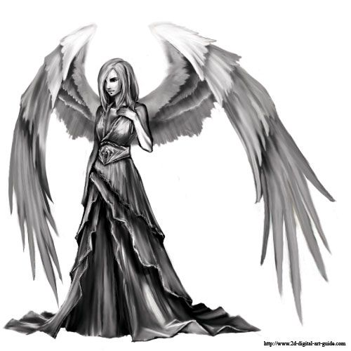 how to draw fallen angels pdf