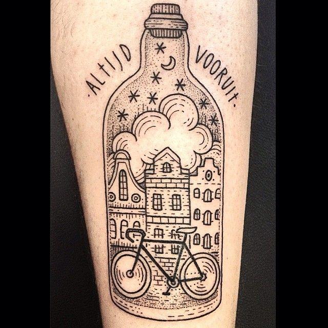 altisd vooruit. Tattoo