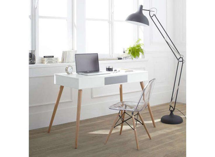 Bureau blanc la redoute simple chaise de bureau la redoute bureau