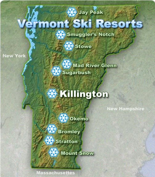 Ski and Ride Vermont- Lots to choose from!