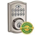 Toledo Fine Locks Stainless Steel Electronic Deadbolt with Remote Control-CV180E-US15 - The Home Depot