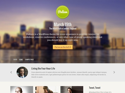 Full width image background leading to a centred CTA