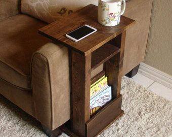Hey, I found this really awesome Etsy listing at https://www.etsy.com/listing/465629037/couch-arm-tablemagazine-holder