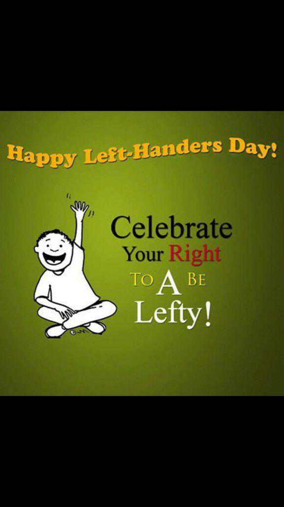 "Monica on Twitter: ""Happy left handers day xx  hands up I'm one xx…"