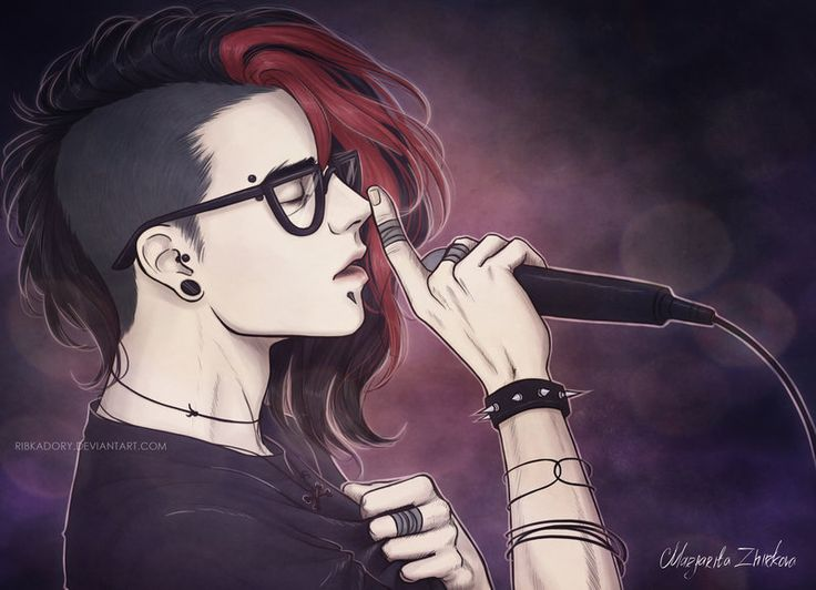 Sing Your Heart Out Boy By Ribkadory Deviantart Com On
