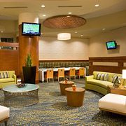 Catch up with friends or enjoy free Wi-Fi! Take a break in the SpringHill Suites Las Vegas Convention Center lobby