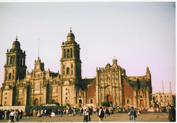 Cathedral - Mexico City.  Manuel Tolsá helped with the final construction of the Cathedral.