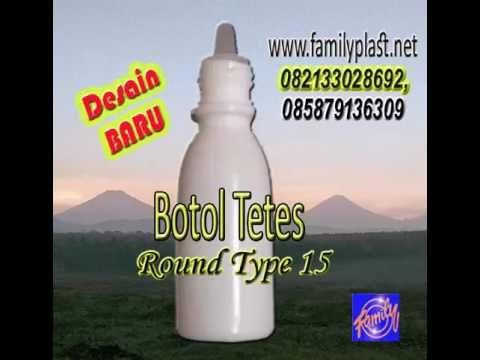 Botol Tetes, Botol Tetes Plastic