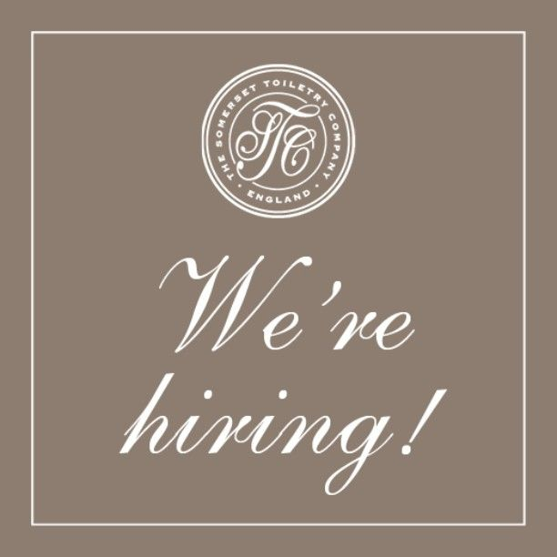 USA: Would you like to join our team? Good news - we're hiring! Visit our Twitter profile to find out more (twitter.com/SomersetTC) - the job description and application is pinned to the top of our profile. We're looking for a Vice President of Sales to join our team working home-based from anywhere in the USA. #Hiring #Sales #VicePresidentOfSales #USA #JobHunt #JobSearch #Resume #Skincare #BathAndBody #Cosmetics #Jobs #TheSomersetToiletryCompany #Job #NowHiring