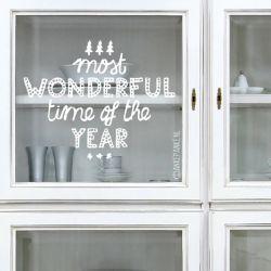 Vrolijke raamtekeningen om de kerst nóg gezelliger te maken.