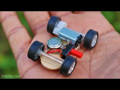 How to Make a Battery Toy Car at Home - YouTube