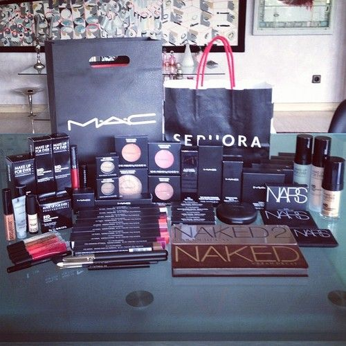 makeup haul; holy crap I wish I could buy all this makeup at once but it would cost a small fortune!!