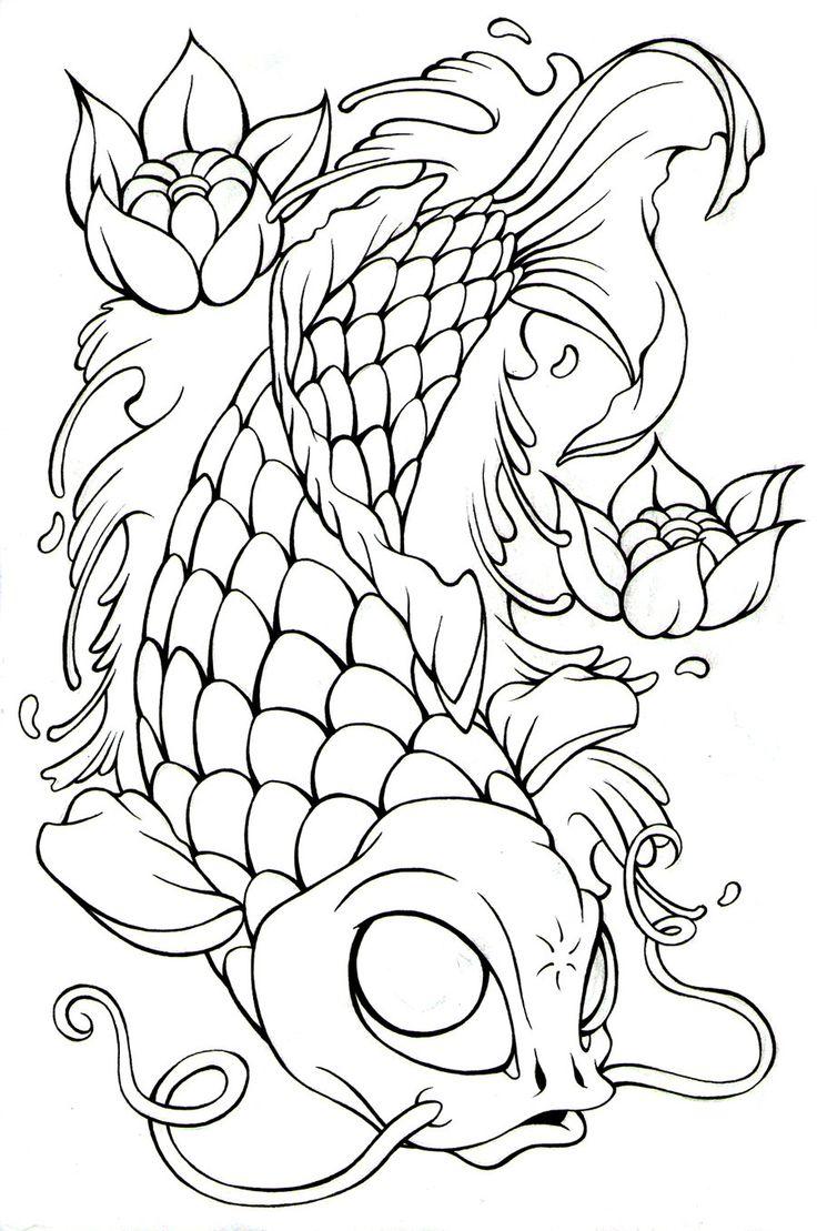 75 mejores imágenes de Рыбки en Pinterest | Pez, Arte tatuajes y Dibujos