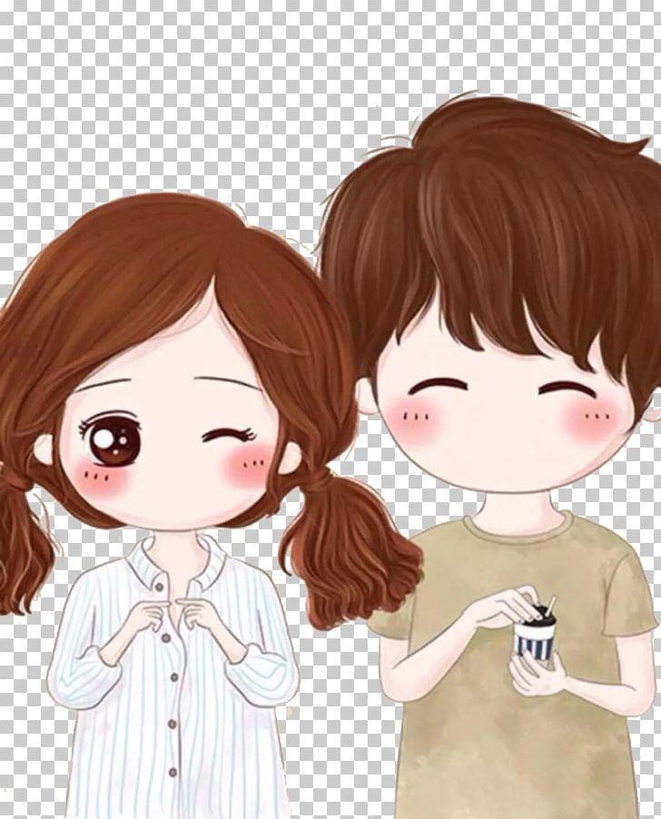 Couple Drawing Png Black Hair Boy Cartoon Chibi Child Cute Couple Cartoon Cute Cartoon Pictures Cute Chibi Couple