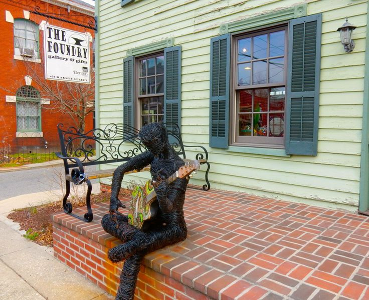 Caroline County MD: Towns of Preston and Denton With Fancy Food And Fine Furnishings