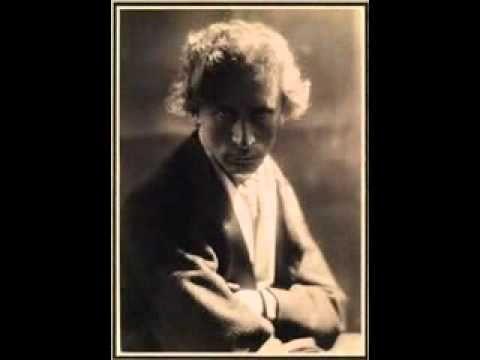 Percy Grainger plays Schumann Etudes Symphoniques Op. 13 (1/2) - YouTube