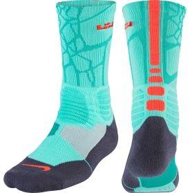 size 40 cdf93 240a2 nike lebron hyper elite crew basketball sock