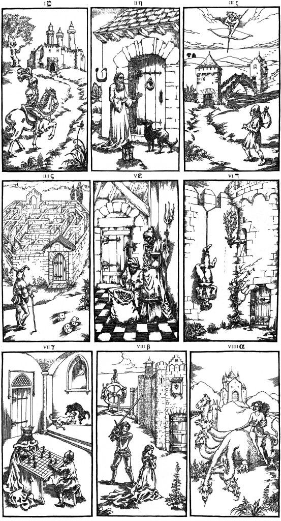 The Ninth Gate, images from the nine gates in the kingdom  Of shadows