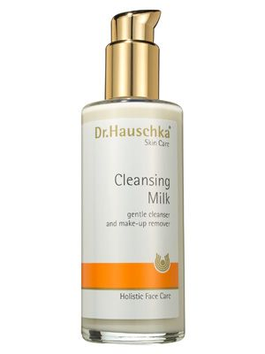Dr. Hauschka Cleansing Milk seems to melt into skin, gently wiping away makeup and dirt without even the slightest hint of dryness or irritation